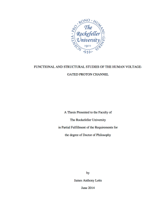 James Letts PhD Thesis